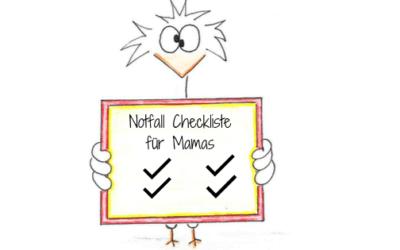 Die ultimative 10 Punkte Notfall Checkliste für jede gestresste Mama