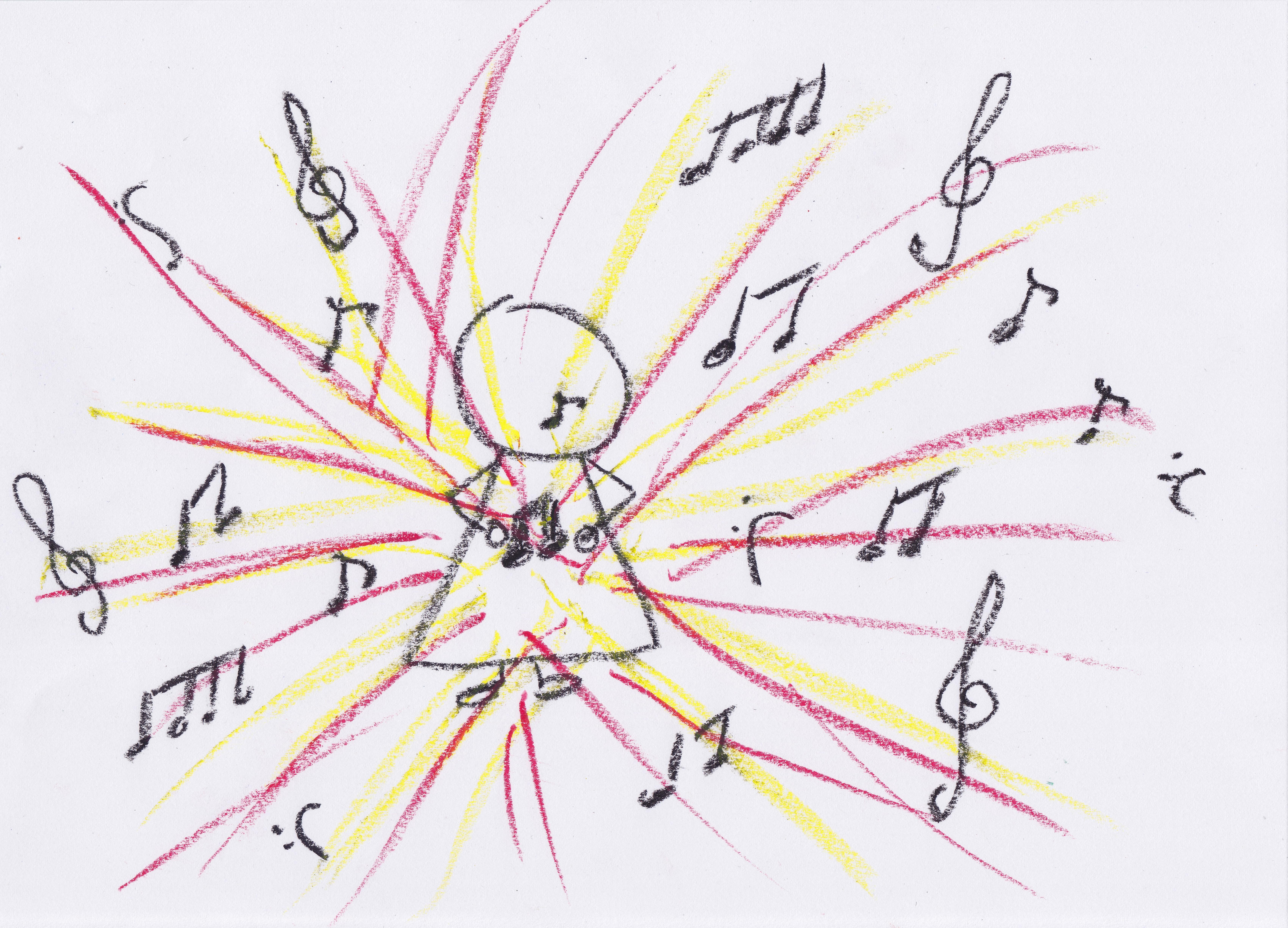 Musik durchströmt mich