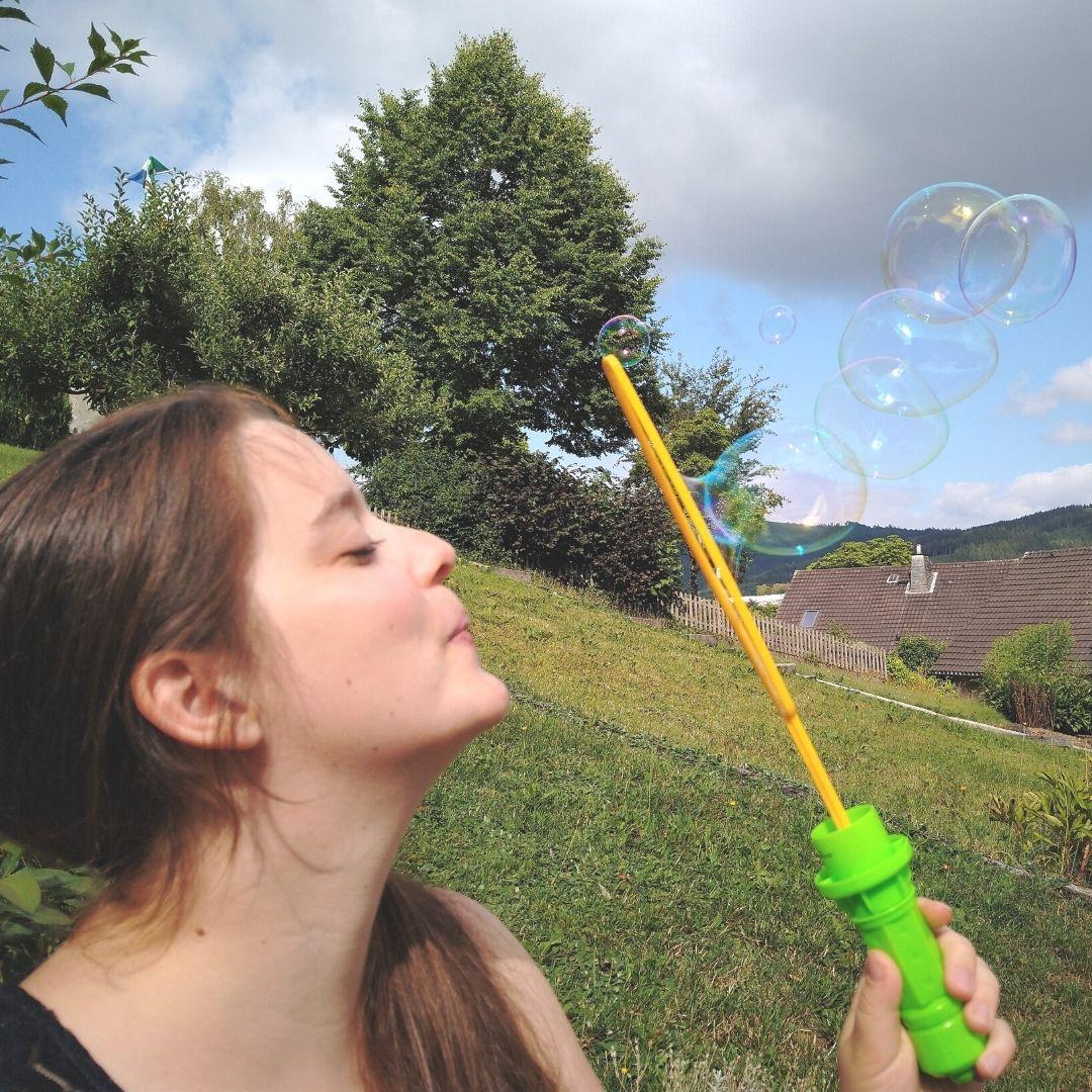 Mehr Leichtigkeit wie Seifenblasen durch Netzwerke